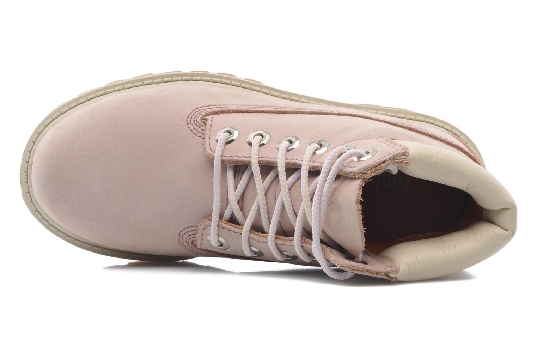 Boots en enkellaarsjes Timberland 6IN PREM WP BT Roze links