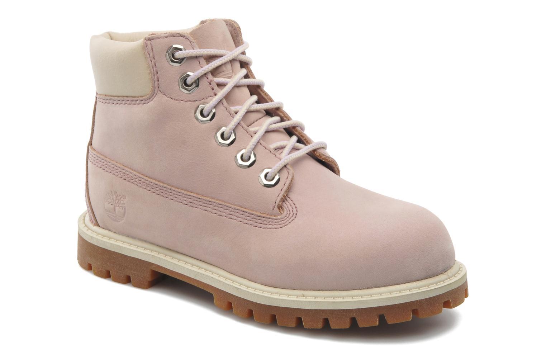 Boots en enkellaarsjes Timberland 6IN PREM WP BT Roze detail