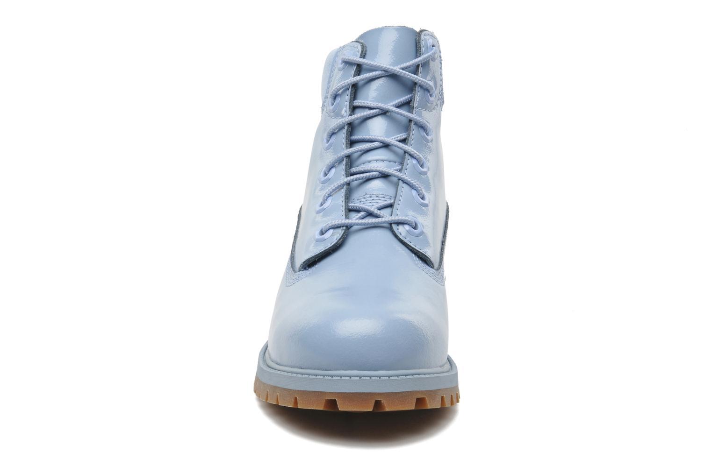 Bottines et boots Timberland 6IN PREM WP LT Bleu vue portées chaussures