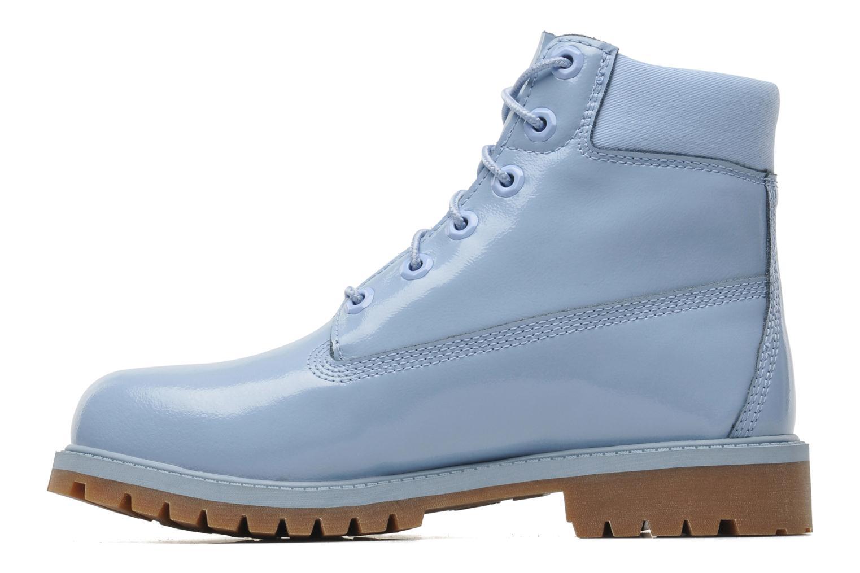 Bottines et boots Timberland 6IN PREM WP LT Bleu vue face