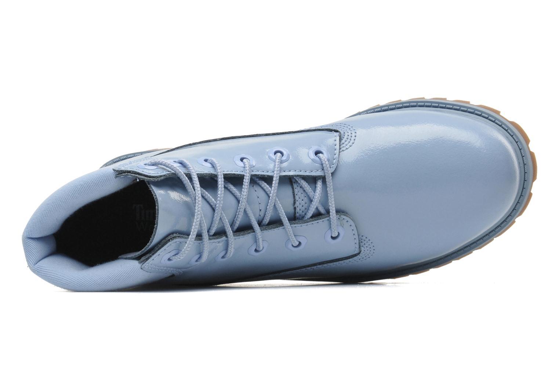 Bottines et boots Timberland 6IN PREM WP LT Bleu vue gauche