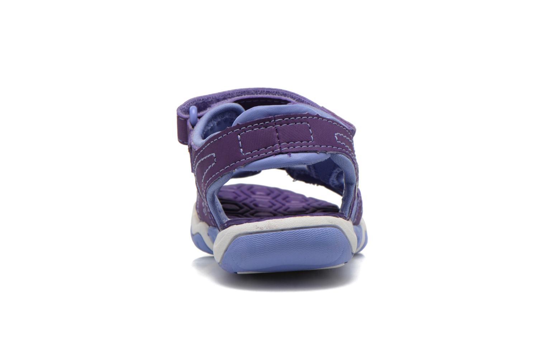 Sandales et nu-pieds Timberland Adventure Seeker 2 Strap Violet vue droite