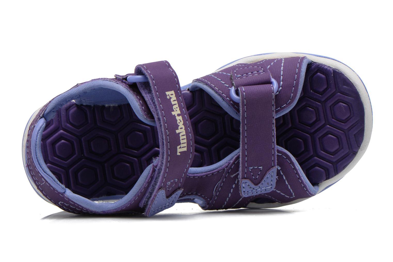 Sandales et nu-pieds Timberland Adventure Seeker 2 Strap Violet vue gauche
