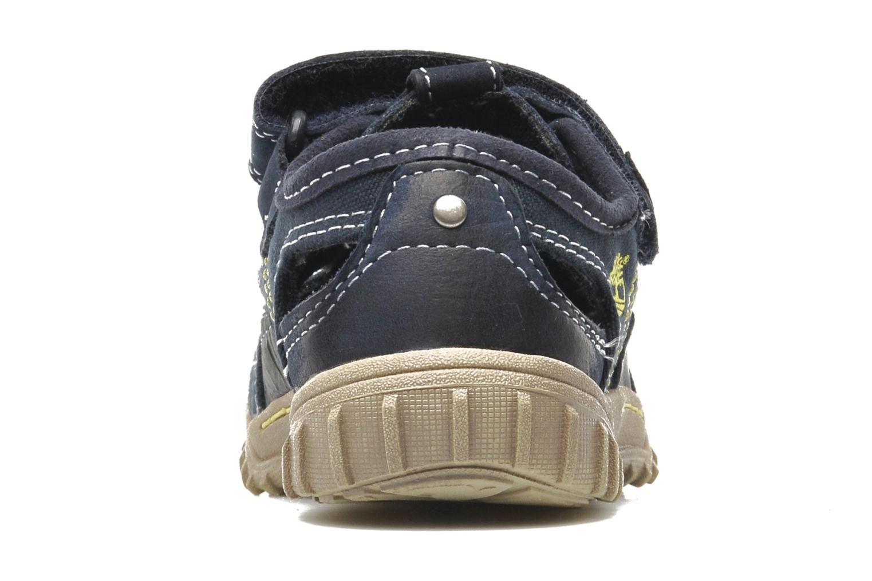 Sneaker Timberland Castleton Fisherman blau ansicht von rechts