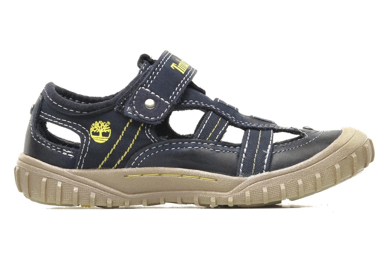 Sneaker Timberland Castleton Fisherman blau ansicht von hinten