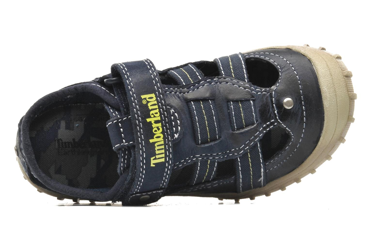 Trainers Timberland Castleton Fisherman Blue view from the left