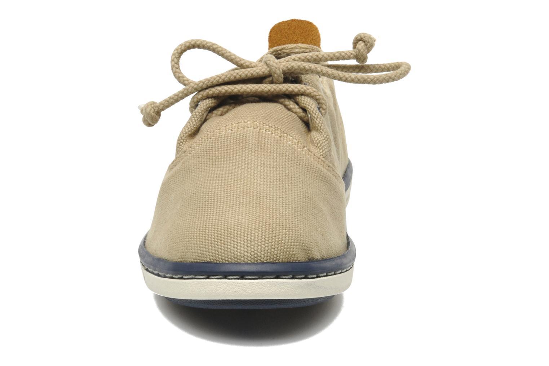 Baskets Timberland Hookset Handcrafted Ox Beige vue portées chaussures