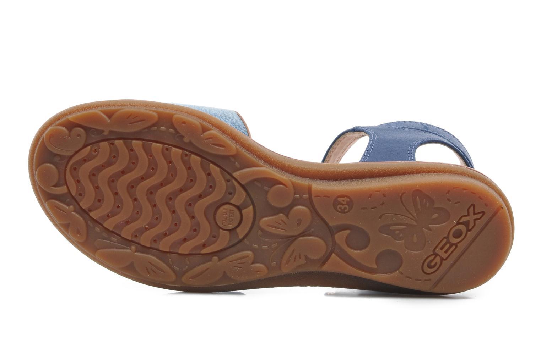Sandalen Geox J S.MILK C II Blauw boven