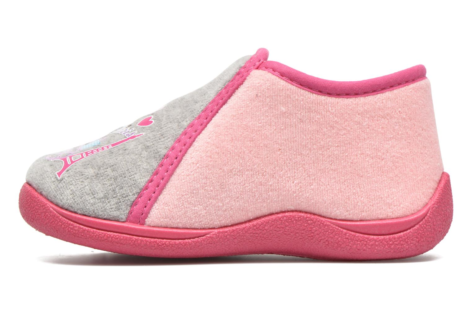 Chaussons Rondinaud GESSY Rose vue face