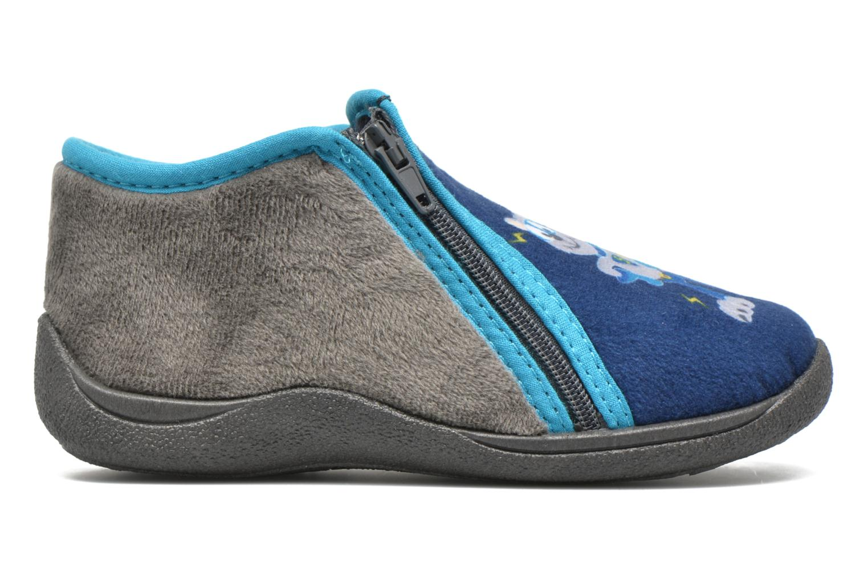 Pantoffels Rondinaud GESSY Blauw achterkant