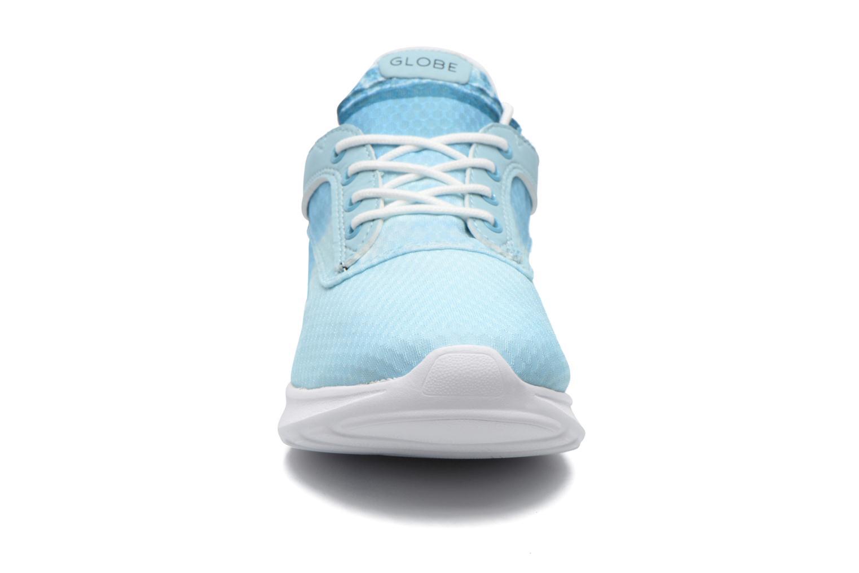 Sneaker Globe Roam Lyte Sr Iceland blau schuhe getragen