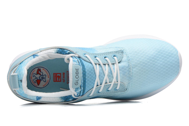 Sneaker Globe Roam Lyte Sr Iceland blau ansicht von links