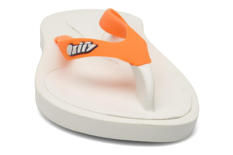 Fun Straps M Fun White Orange