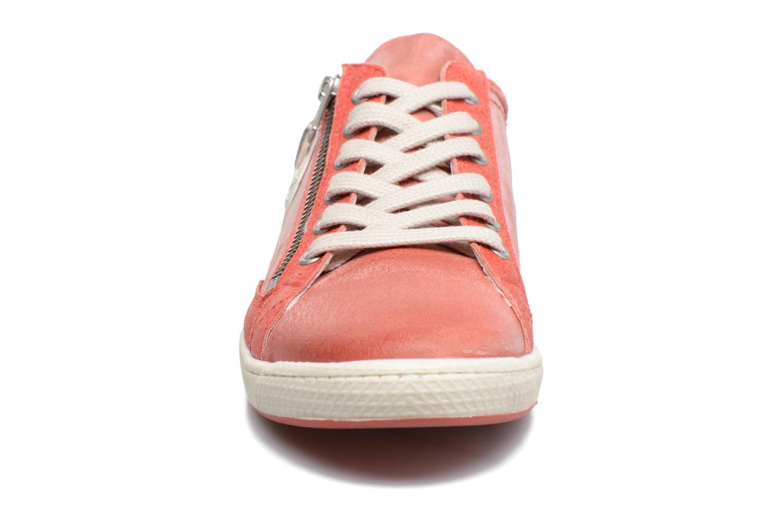 Baskets Pataugas Jester Rouge vue portées chaussures