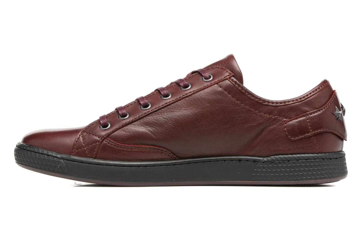 Trainers Pataugas JesterN Burgundy front view
