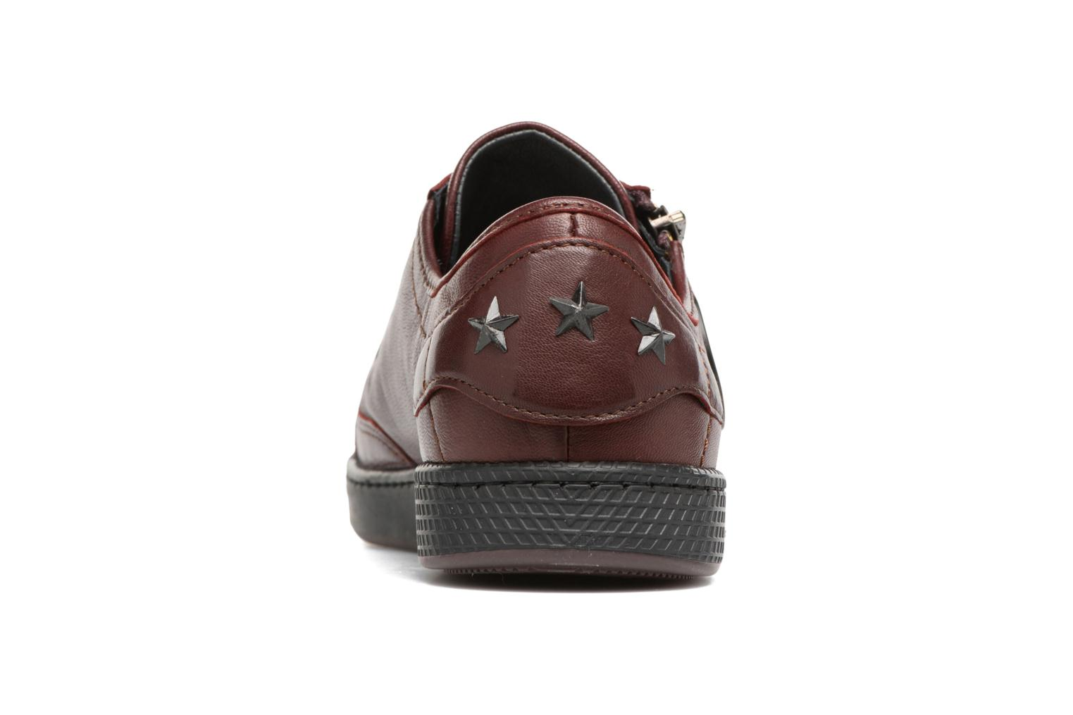 Trainers Pataugas JesterN Burgundy view from the right