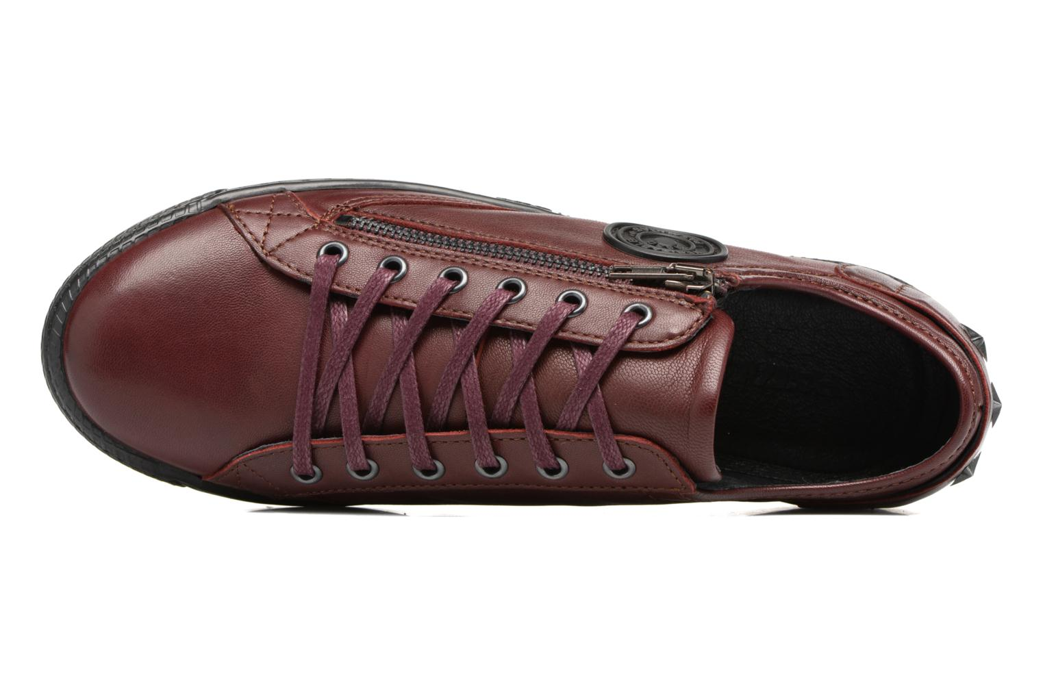 Trainers Pataugas JesterN Burgundy view from the left