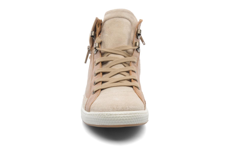 Baskets Pataugas Just/VE Marron vue portées chaussures