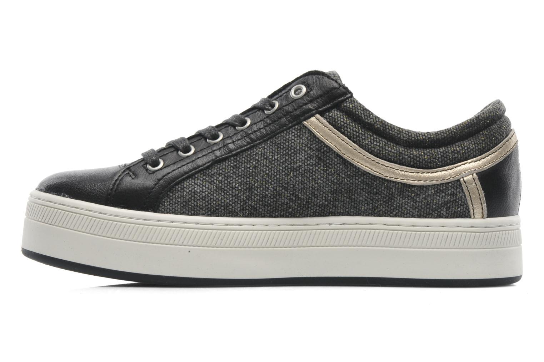 Sneaker Pataugas Pix schwarz ansicht von vorne