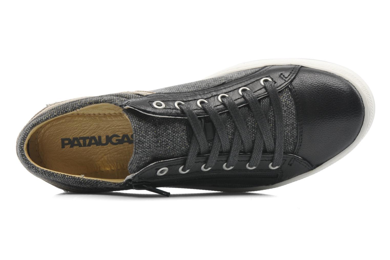 Sneaker Pataugas Pix schwarz ansicht von links