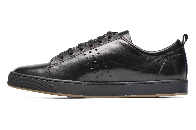 Sneaker Pataugas Mattei schwarz ansicht von vorne