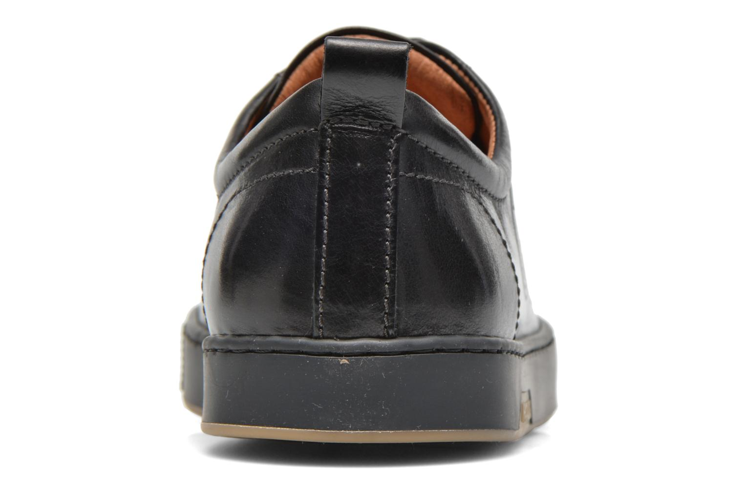 Trainers Pataugas Mattei Black view from the right