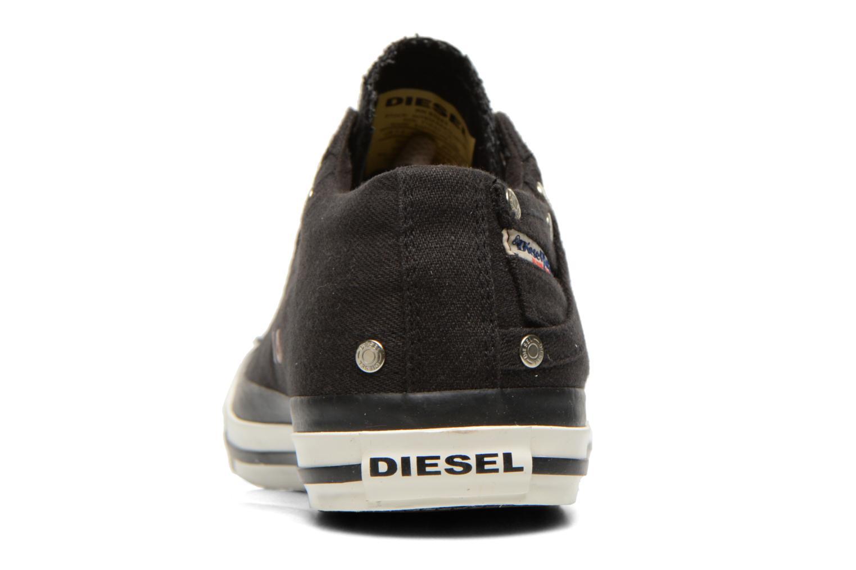 Sneakers Diesel Exposure Low Zwart rechts