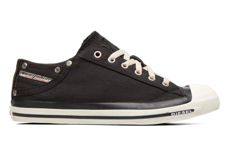 Sneakers Diesel Exposure Low Zwart achterkant