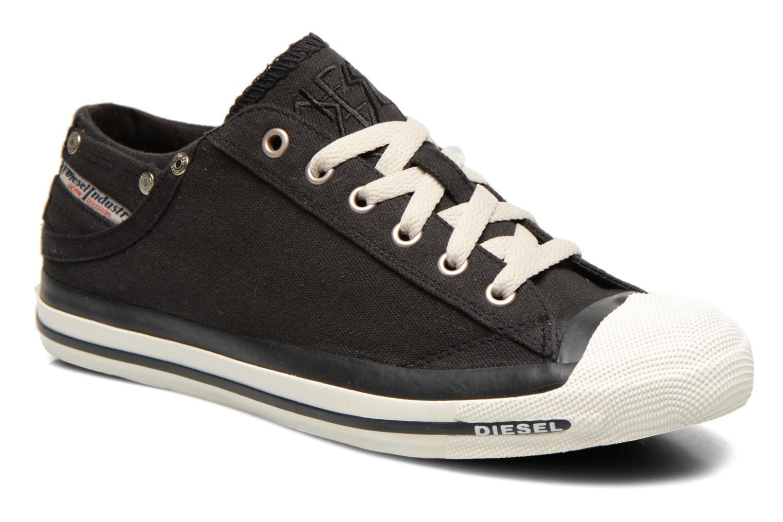 Sneakers Diesel Exposure Low Zwart detail