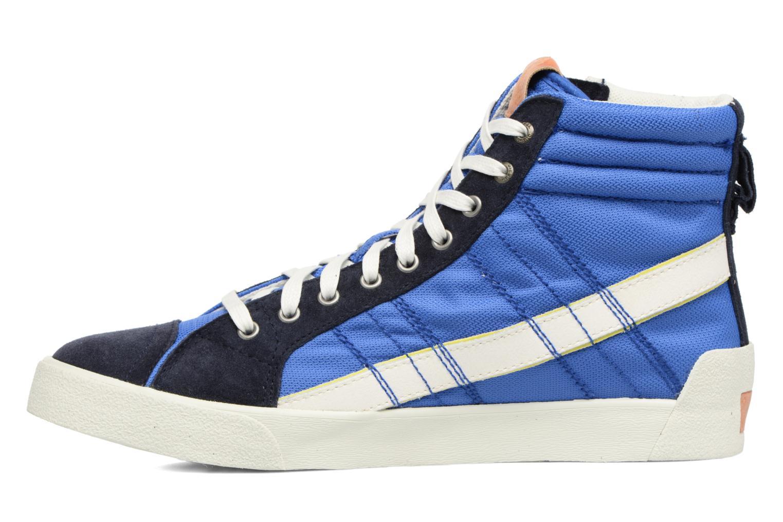 Baskets Diesel D-String Plus Bleu vue face