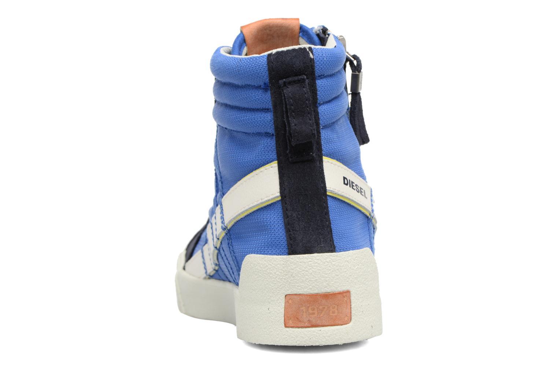 Baskets Diesel D-String Plus Bleu vue droite