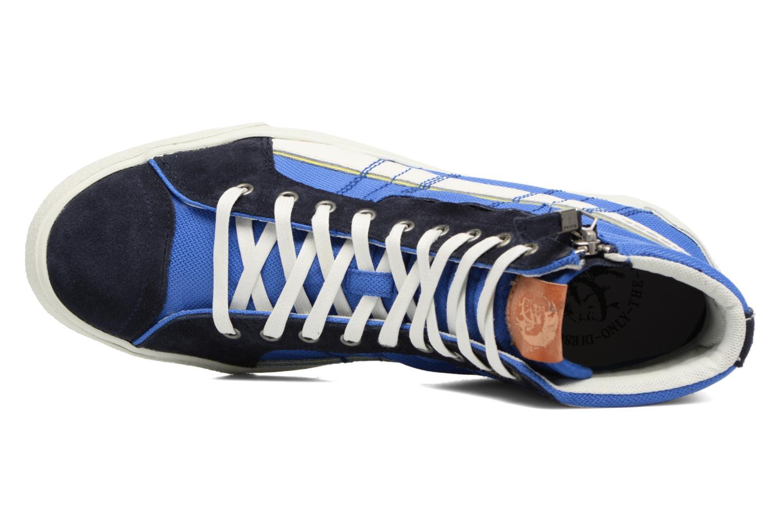 Baskets Diesel D-String Plus Bleu vue gauche