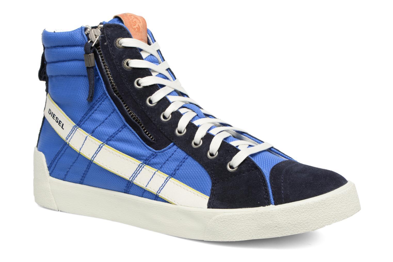 Baskets Diesel D-String Plus Bleu vue détail/paire