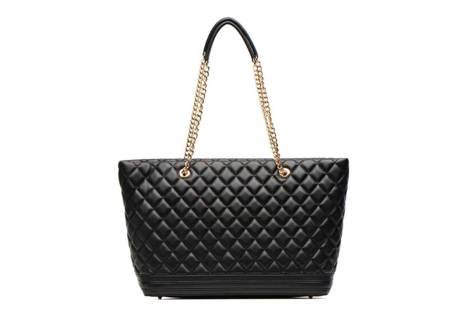 Sacs à main Love Moschino Quilted Cabas Noir vue face