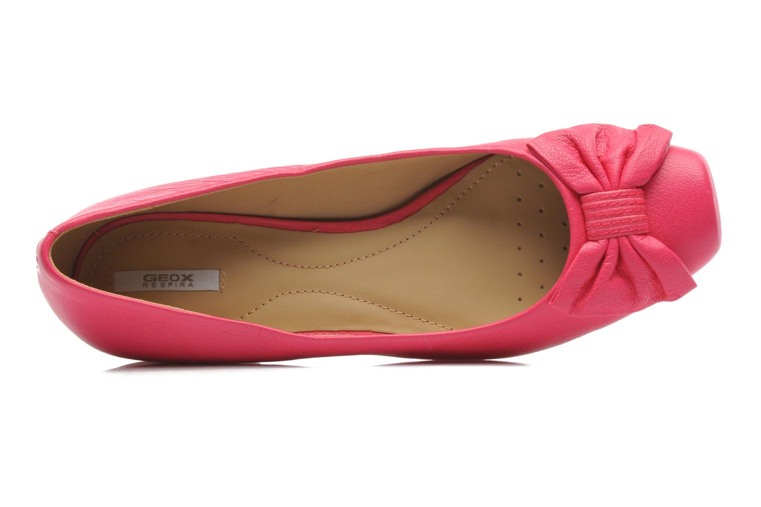 Ballet pumps Geox D Zilda A Pink view from the left