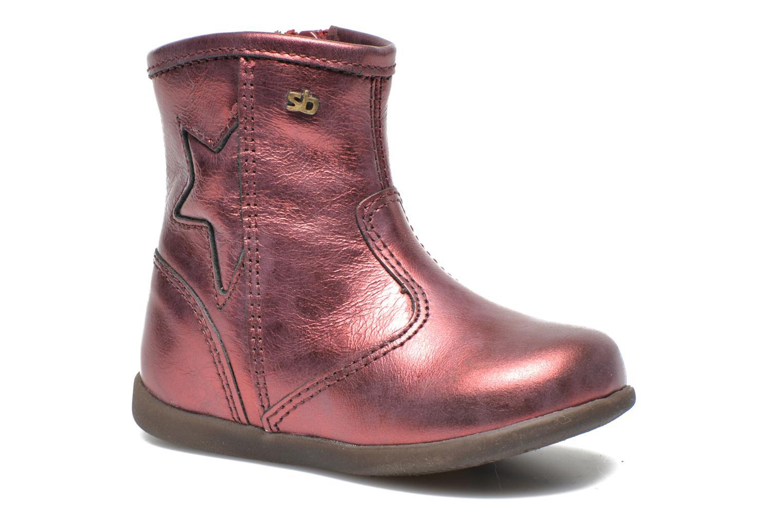 Stiefeletten & Boots Stones and Bones SENA weinrot detaillierte ansicht/modell