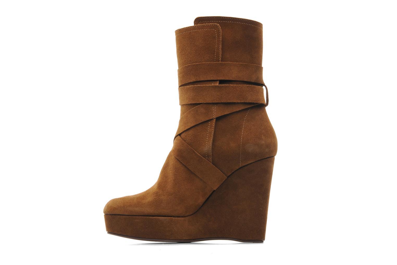 Bottines et boots Michael Michael Kors Malika Marron vue face