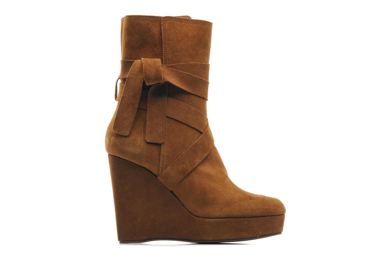 Bottines et boots Michael Michael Kors Malika Marron vue derrière