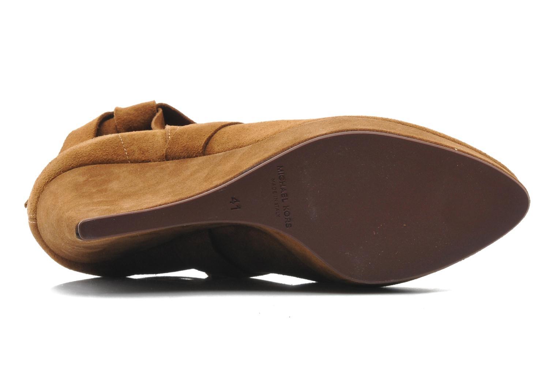 Bottines et boots Michael Michael Kors Malika Marron vue haut