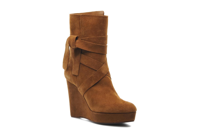 Bottines et boots Michael Michael Kors Malika Marron vue détail/paire