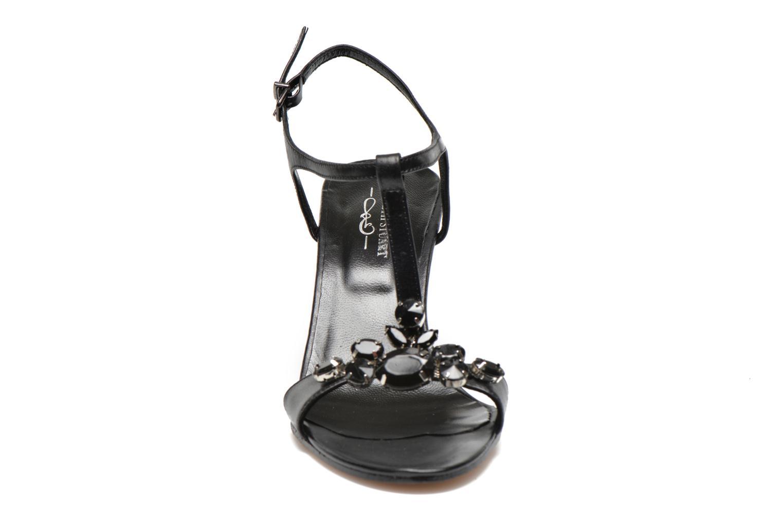 Sandales et nu-pieds Elizabeth Stuart Bull Noir vue portées chaussures