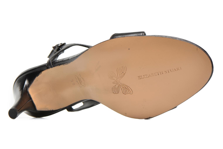 Sandales et nu-pieds Elizabeth Stuart Bull Noir vue haut