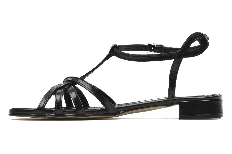 Sandals Elizabeth Stuart Amelie Black front view
