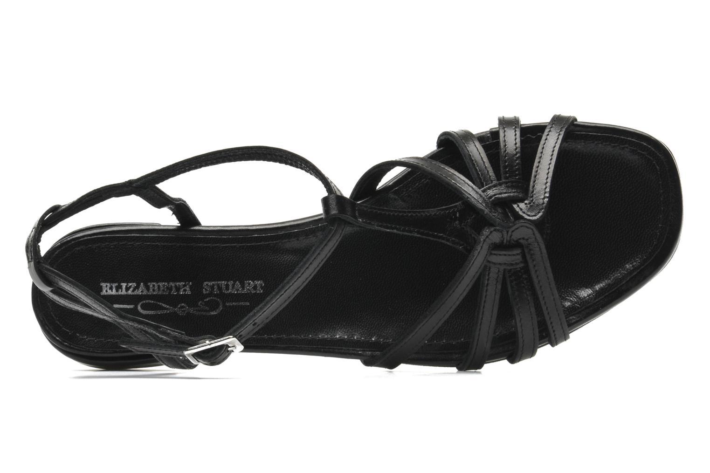 Sandals Elizabeth Stuart Amelie Black view from the left
