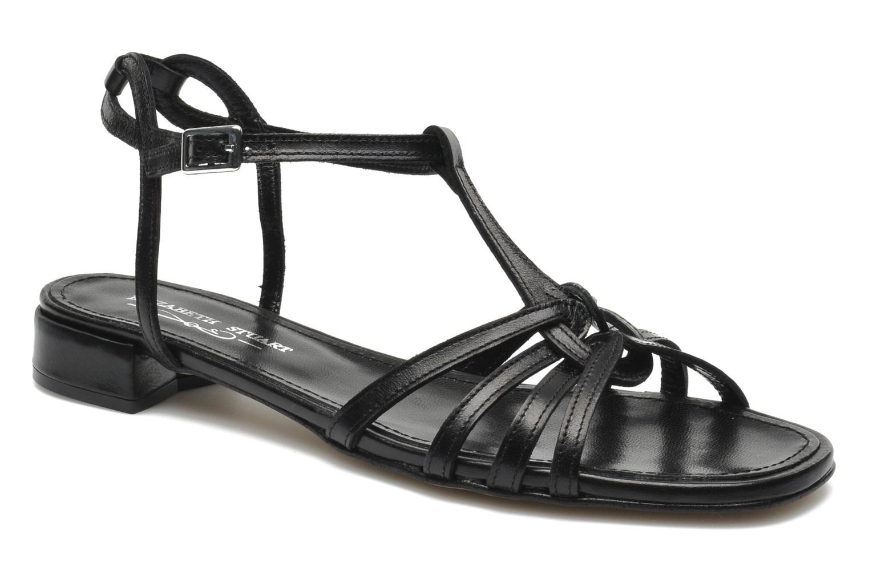 Sandals Elizabeth Stuart Amelie Black detailed view/ Pair view