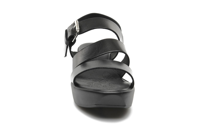 Sandales et nu-pieds Elizabeth Stuart Vidocq Noir vue portées chaussures