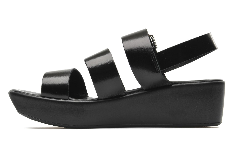 Sandales et nu-pieds Elizabeth Stuart Vidocq Noir vue face