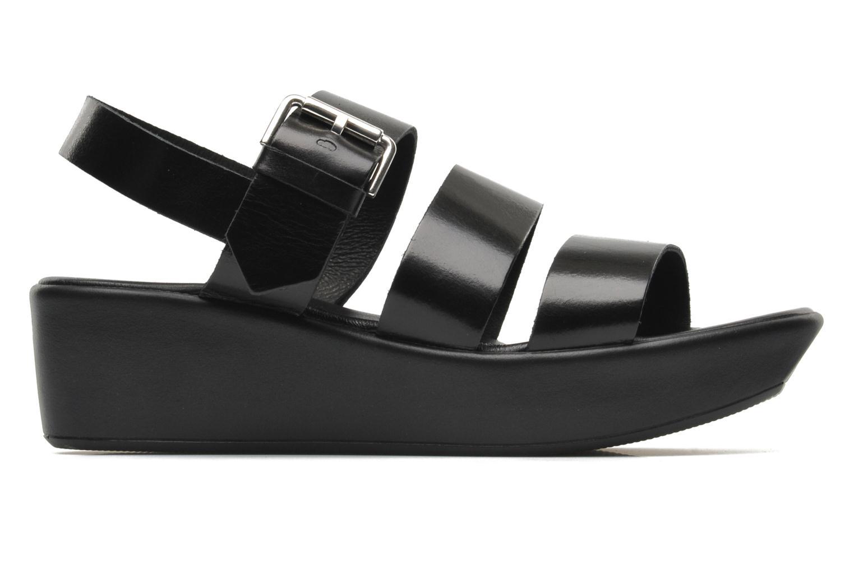Sandales et nu-pieds Elizabeth Stuart Vidocq Noir vue derrière