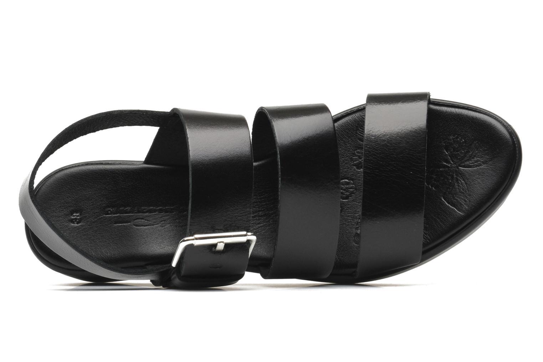 Sandales et nu-pieds Elizabeth Stuart Vidocq Noir vue gauche