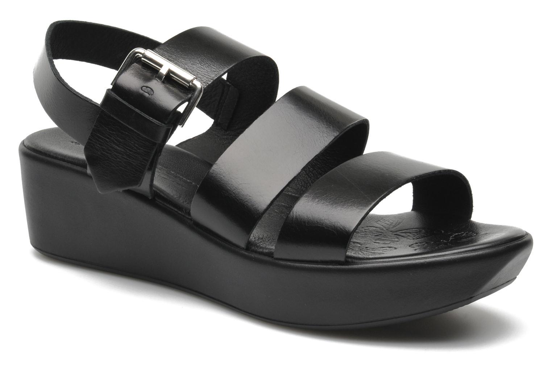 Sandales et nu-pieds Elizabeth Stuart Vidocq Noir vue détail/paire